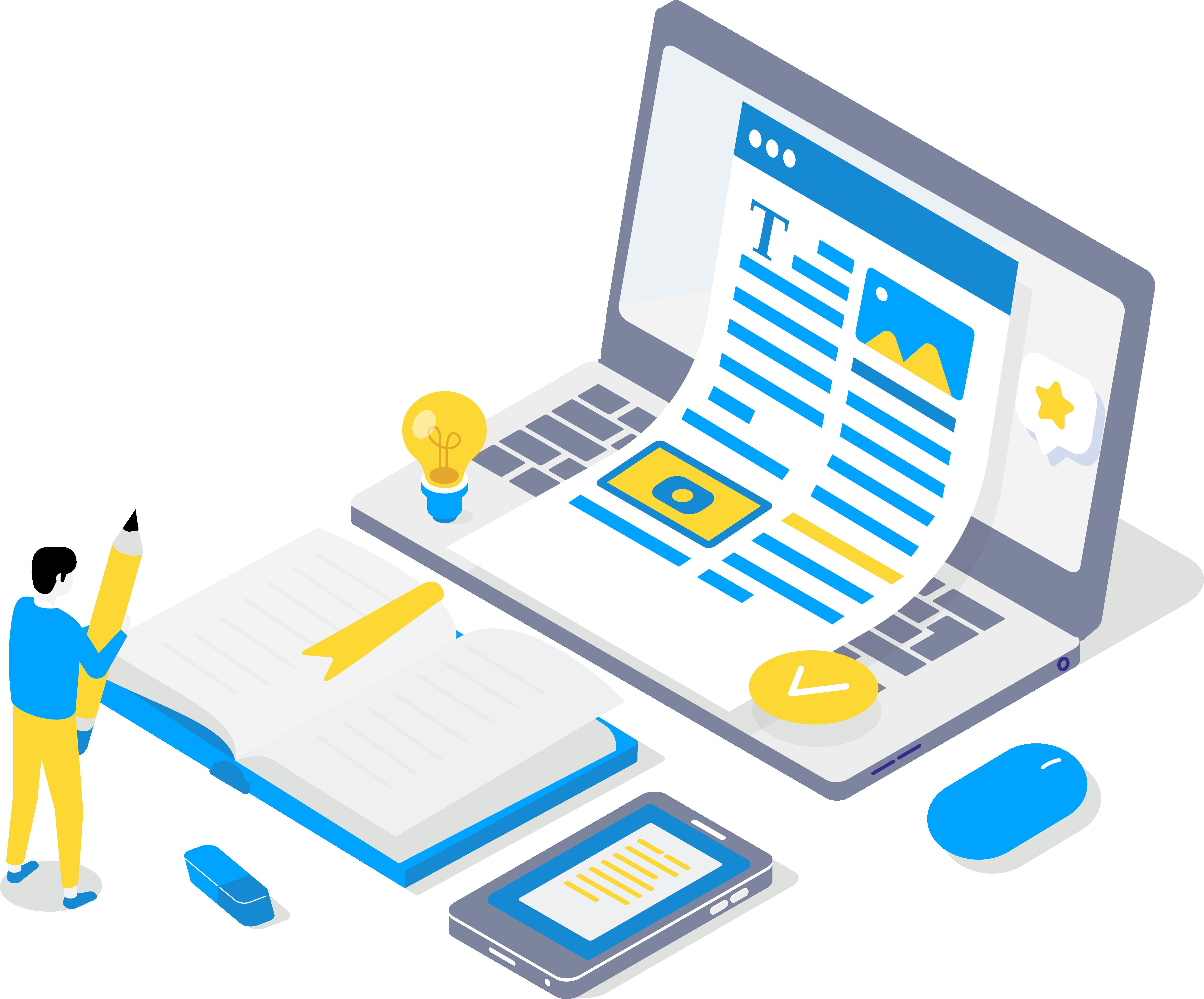 Laptop Content Creation