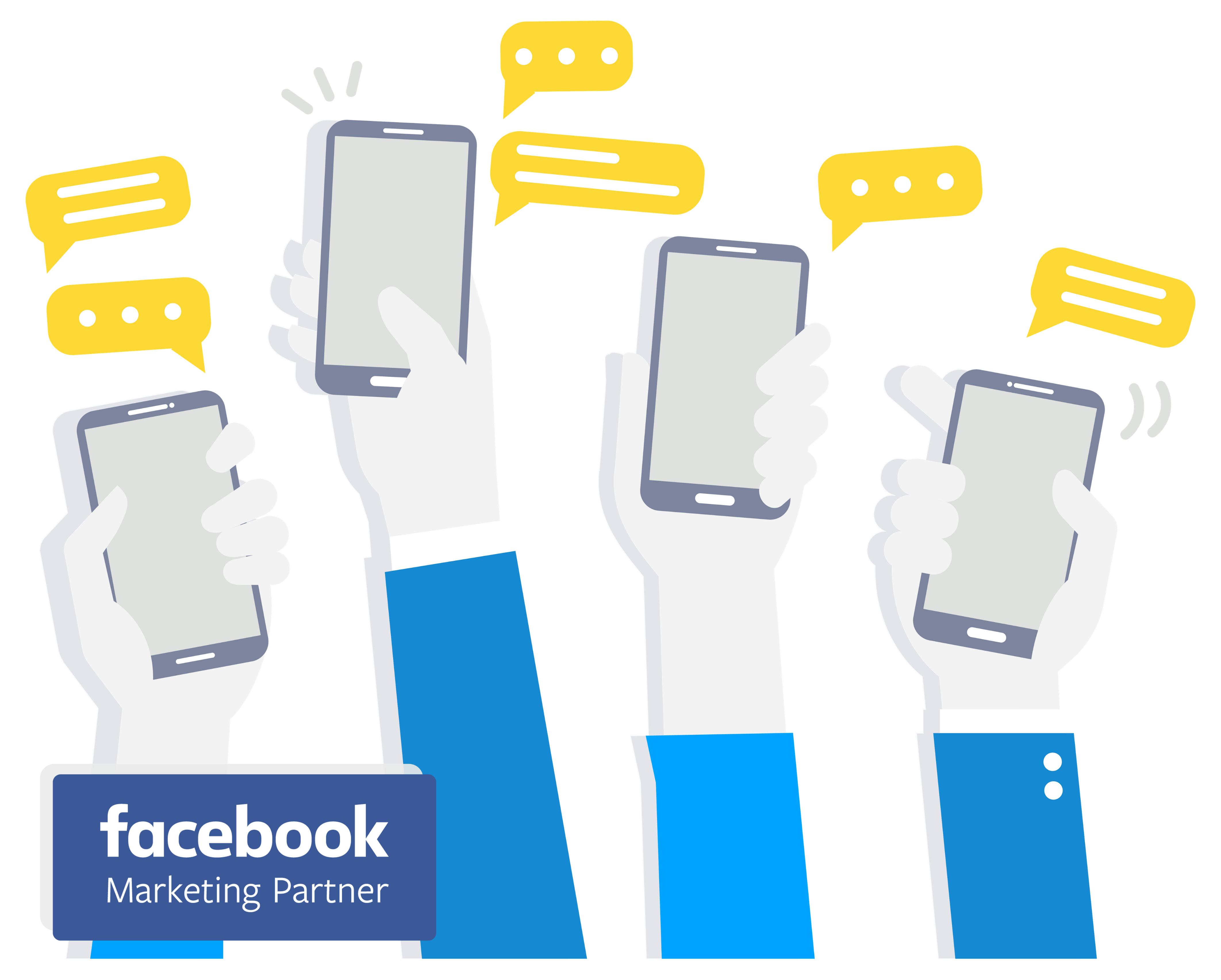 facebook marketing partner png